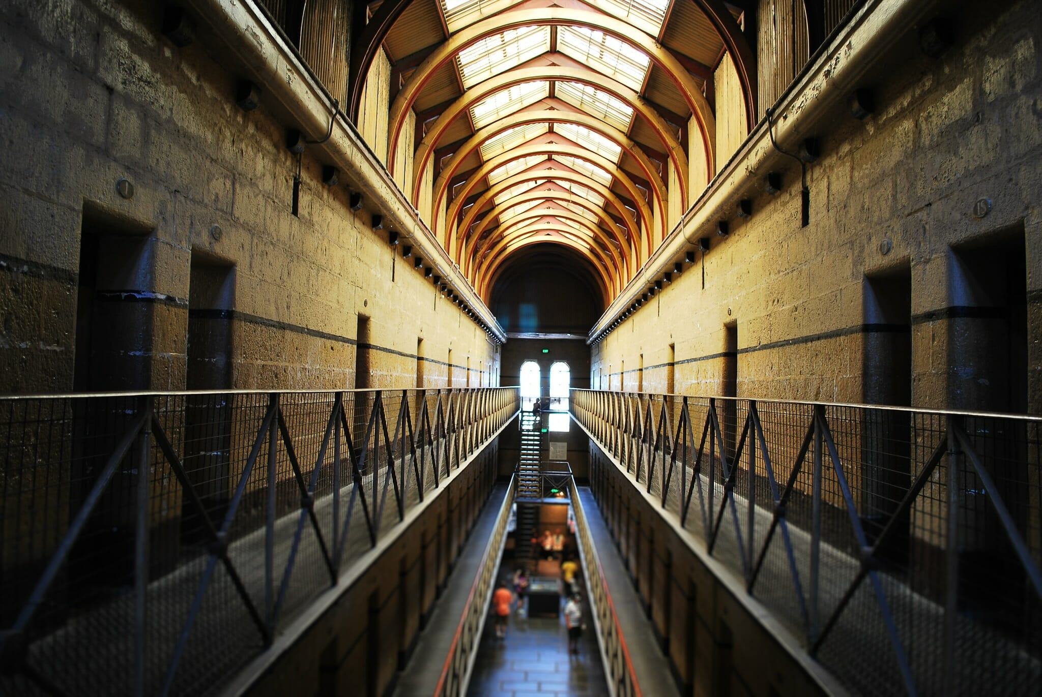 Little has changed since the Melbourne Gaol closed. Credit: Shutterstock