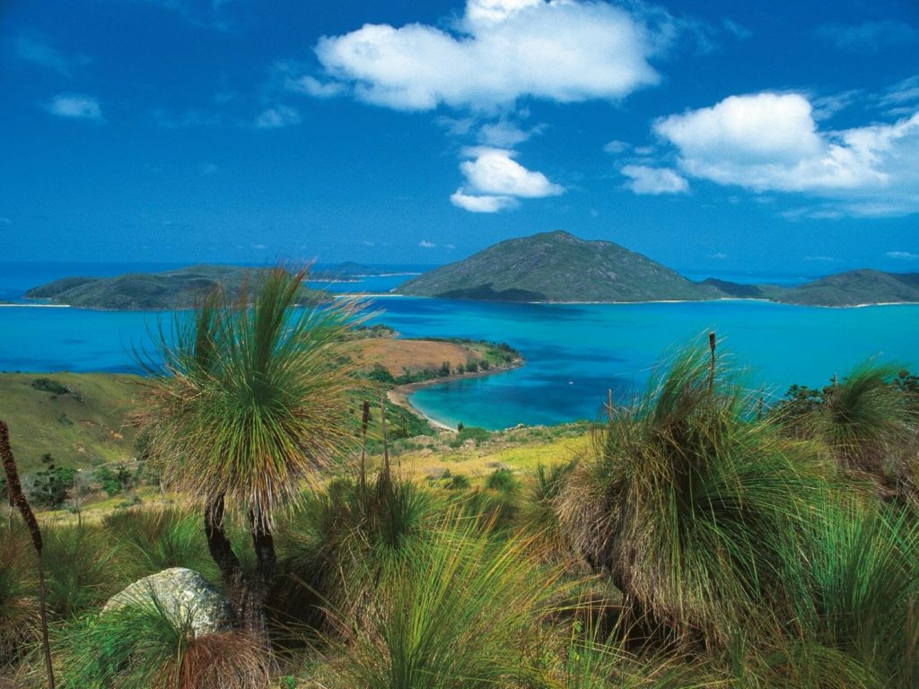 Great Barrier Reef island camping
