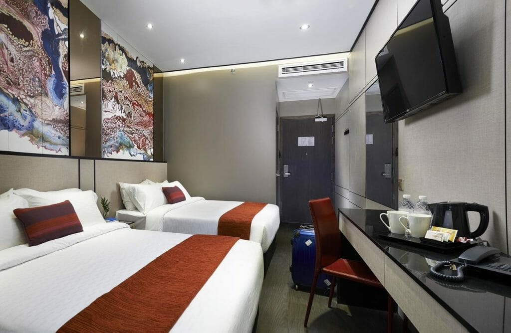 Hotel Boss Singapore Family Rooms
