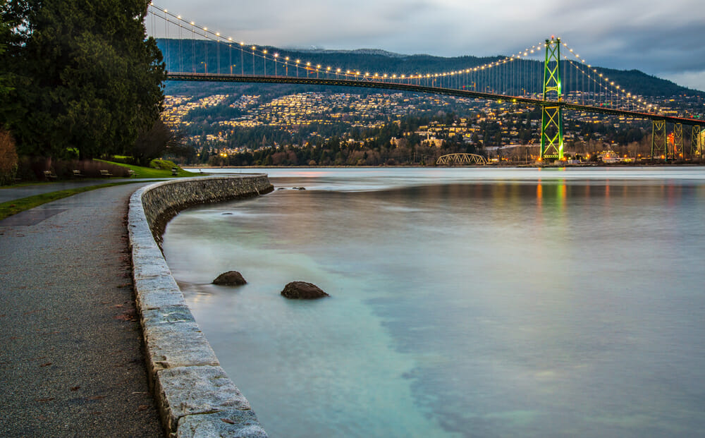 Stanley Park Vancouver with kids