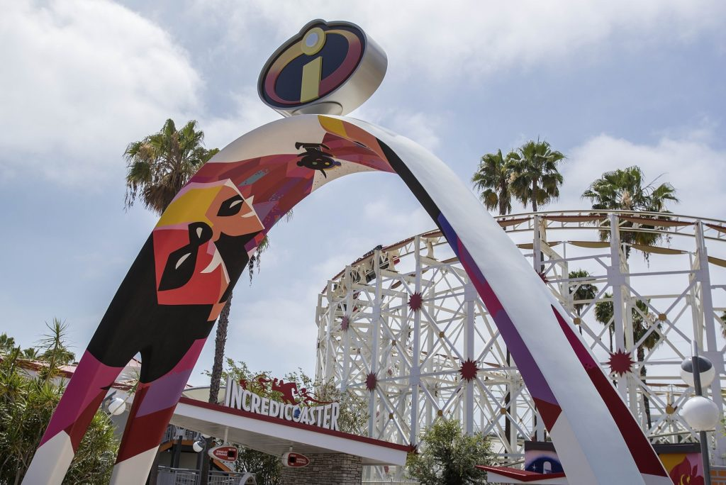 The Incredicoaster will take guests on a thrilling race alongside the Parr family.. Picture: Joshua Sudock/Disneyland Resort
