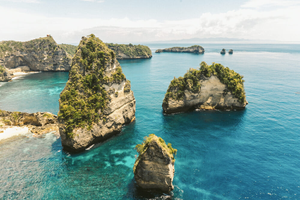 Thousand Islands turquoise water - one of the 10 new Bali