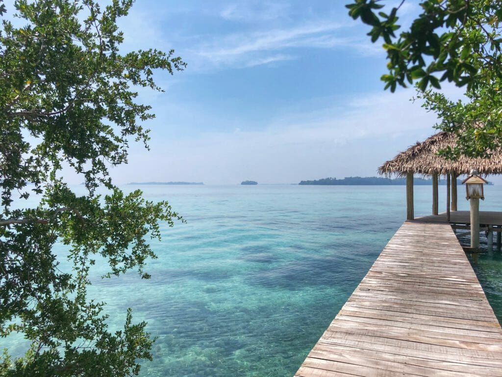 Overwater bungalow on Pulau Macan, Thousand Islands - one of the 10 new Balis