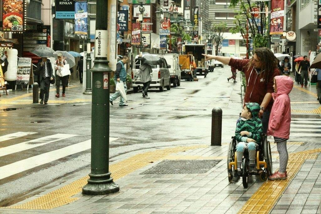 Japan wheelchair Smith Holiday Road