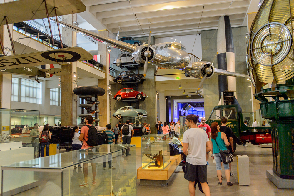 Science Museum, a major museum on Exhibition Road in South Kensington, London