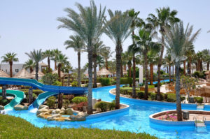hotels with a lazy river