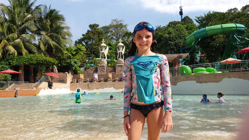 Adventure Cove Waterpark Singapore Sentosa With Video Family Travel