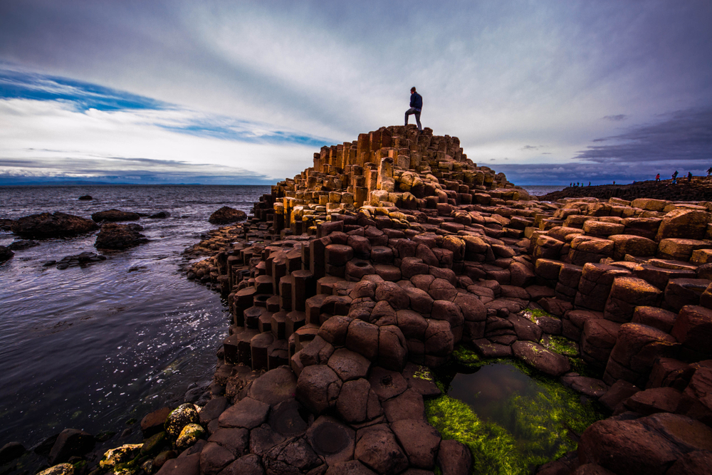 The Giant's Causeway on an Ireland Road Trip