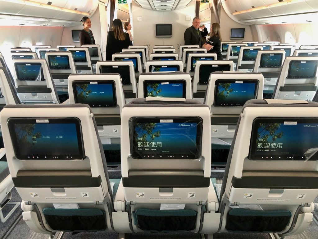 Economy class seats Fiji Airways A350