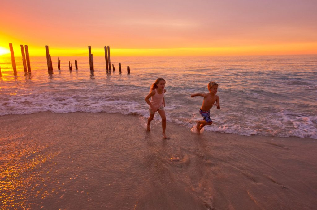 Port Willunga is great for family photos! Credit: South Australian Tourism Commission/ Adam Bruzzone