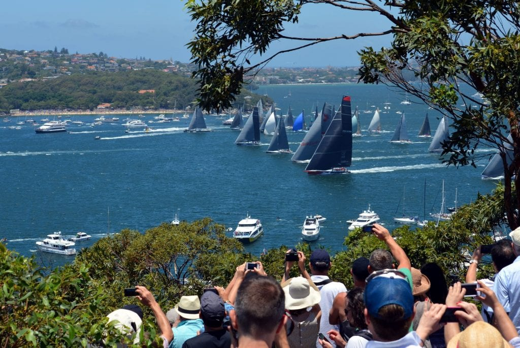 Catch a glimpse as this famous yacht race starts. Credit: Shutterstock