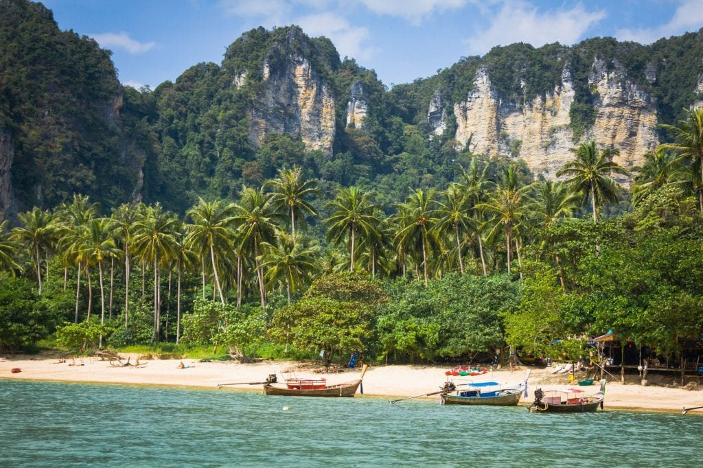Could it get any more picturesque than Ao Nang? Credit: Shutterstock