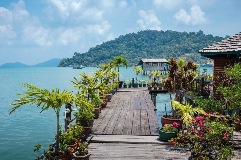 The stilted fishing village of Bang Bao Credit: Shutterstock
