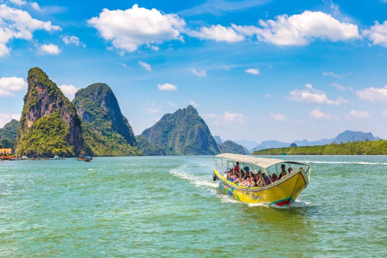 Boat trips and beach days - outings in Ao Phang. Credit: Shutterstock