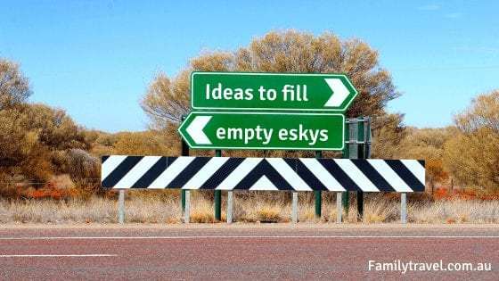 help fill empty eskys road signs